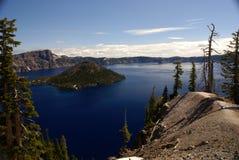 Λίμνη κρατήρων, Όρεγκον, ΗΠΑ Στοκ εικόνα με δικαίωμα ελεύθερης χρήσης