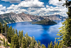 Λίμνη κρατήρων στοκ φωτογραφία με δικαίωμα ελεύθερης χρήσης
