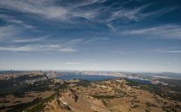 λίμνη κρατήρων Στοκ Εικόνα