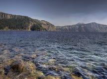 λίμνη κρατήρων Στοκ εικόνα με δικαίωμα ελεύθερης χρήσης