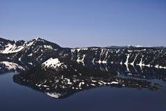 λίμνη κρατήρων Στοκ Εικόνες