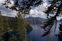 λίμνη κρατήρων Στοκ Φωτογραφίες