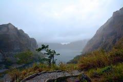Λίμνη κρατήρων Pinatubo Στοκ φωτογραφία με δικαίωμα ελεύθερης χρήσης