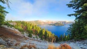 Λίμνη κρατήρων timelapse φιλμ μικρού μήκους