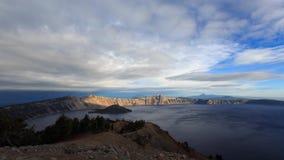 Λίμνη κρατήρων timelapse απόθεμα βίντεο