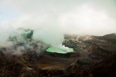 Λίμνη κρατήρων Vulcano Poas - Κόστα Ρίκα Στοκ Εικόνες