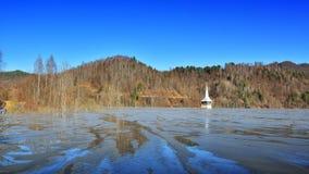 Λίμνη κυανιδίου σε Geamana Ρουμανία Στοκ Εικόνες