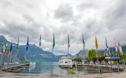 Λίμνη Λουκέρνης, Ελβετία στοκ εικόνα