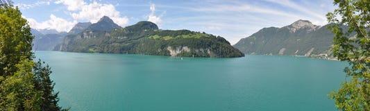 Λίμνη Λουκέρνη Ελβετία στοκ φωτογραφίες
