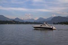 Λίμνη Λουκέρνη, Ελβετία Στοκ Εικόνες