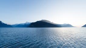 Λίμνη Λουκέρνη στην Ελβετία στοκ φωτογραφία με δικαίωμα ελεύθερης χρήσης