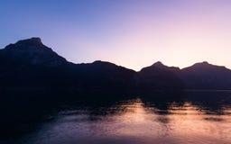 Λίμνη Λουκέρνη στοκ φωτογραφία