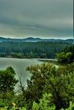 Λίμνη λυγξ, περιοχή δασοφυλάκων Bradshaw, εθνικό δρυμός Prescott, κράτος της Αριζόνα, Ηνωμένες Πολιτείες Στοκ φωτογραφία με δικαίωμα ελεύθερης χρήσης