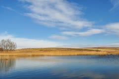 λίμνη λόφων Στοκ Φωτογραφίες