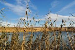 λίμνη λόφων Στοκ φωτογραφίες με δικαίωμα ελεύθερης χρήσης