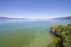 λίμνη Μακεδονία ohrid Στοκ φωτογραφία με δικαίωμα ελεύθερης χρήσης