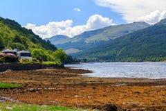 Λίμνη μακριά Σκωτία Στοκ φωτογραφίες με δικαίωμα ελεύθερης χρήσης