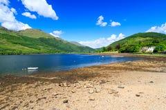 Λίμνη μακριά Σκωτία Στοκ Φωτογραφία