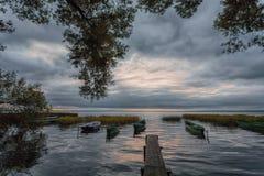 Λίμνη με την ιστορία Στοκ Εικόνες