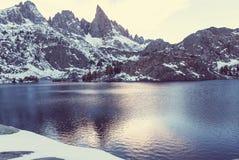 Λίμνη μιναρών Στοκ φωτογραφία με δικαίωμα ελεύθερης χρήσης
