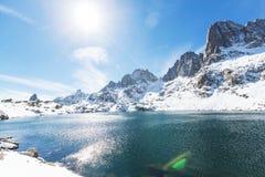 Λίμνη μιναρών Στοκ Εικόνες