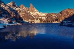 Λίμνη μιναρών Στοκ εικόνες με δικαίωμα ελεύθερης χρήσης