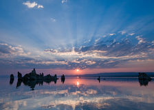 λίμνη μονο Στοκ φωτογραφία με δικαίωμα ελεύθερης χρήσης