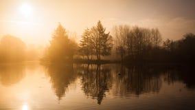 Λίμνη μύλων Στοκ εικόνες με δικαίωμα ελεύθερης χρήσης