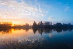 Λίμνη μύλων Στοκ Φωτογραφία