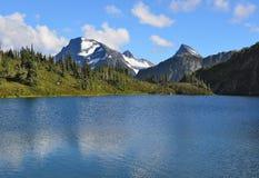 Λίμνη Μ Gurr, Bella Coola, βρετανική Κολομβία, Καναδάς στοκ εικόνες με δικαίωμα ελεύθερης χρήσης