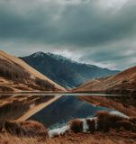 Λίμνη Νέα Ζηλανδία Moke στοκ φωτογραφία