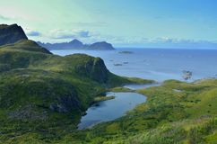λίμνη Νορβηγία Στοκ Εικόνα