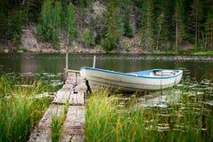Λίμνη Νορβηγία Idyylic στοκ εικόνες