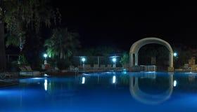 Λίμνη νύχτας στοκ εικόνα με δικαίωμα ελεύθερης χρήσης