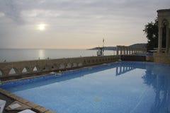 Λίμνη ξενοδοχείων Στοκ Εικόνα