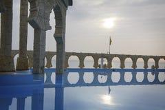 Λίμνη ξενοδοχείων Στοκ Φωτογραφίες