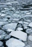 Λίμνη πάγου που σπάζουν Στοκ φωτογραφία με δικαίωμα ελεύθερης χρήσης