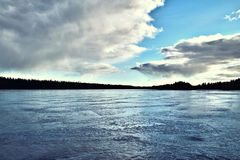 Λίμνη πάγου Στοκ εικόνα με δικαίωμα ελεύθερης χρήσης