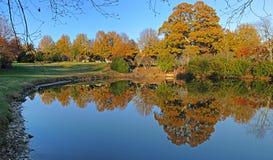 λίμνη πάρκων Στοκ Φωτογραφίες