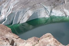 λίμνη παγετώνων Στοκ εικόνες με δικαίωμα ελεύθερης χρήσης