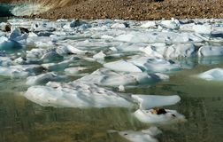 λίμνη παγετώνων στοκ φωτογραφία με δικαίωμα ελεύθερης χρήσης