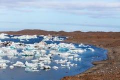 Λίμνη παγετώνων Στοκ εικόνα με δικαίωμα ελεύθερης χρήσης