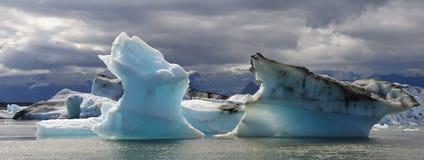 λίμνη παγόβουνων Στοκ Φωτογραφίες