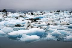 λίμνη παγόβουνων Στοκ φωτογραφίες με δικαίωμα ελεύθερης χρήσης