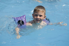 λίμνη παιδιών Στοκ φωτογραφίες με δικαίωμα ελεύθερης χρήσης