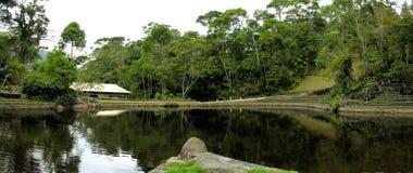 λίμνη πανοραμική Στοκ φωτογραφία με δικαίωμα ελεύθερης χρήσης