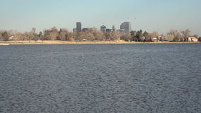 Λίμνη παν στο κέντρο της πόλης Ντένβερ Sloan απόθεμα βίντεο