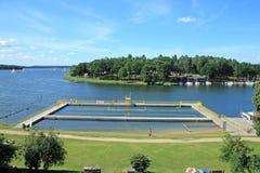 λίμνη παραλιών Στοκ Εικόνες