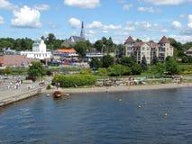 λίμνη παραλιών memphremagog Στοκ φωτογραφία με δικαίωμα ελεύθερης χρήσης