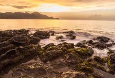 Λίμνη παλίρροιας της Κόστα Ρίκα Στοκ Εικόνες